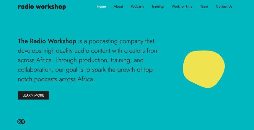 Radio-Workshop-Home-Page